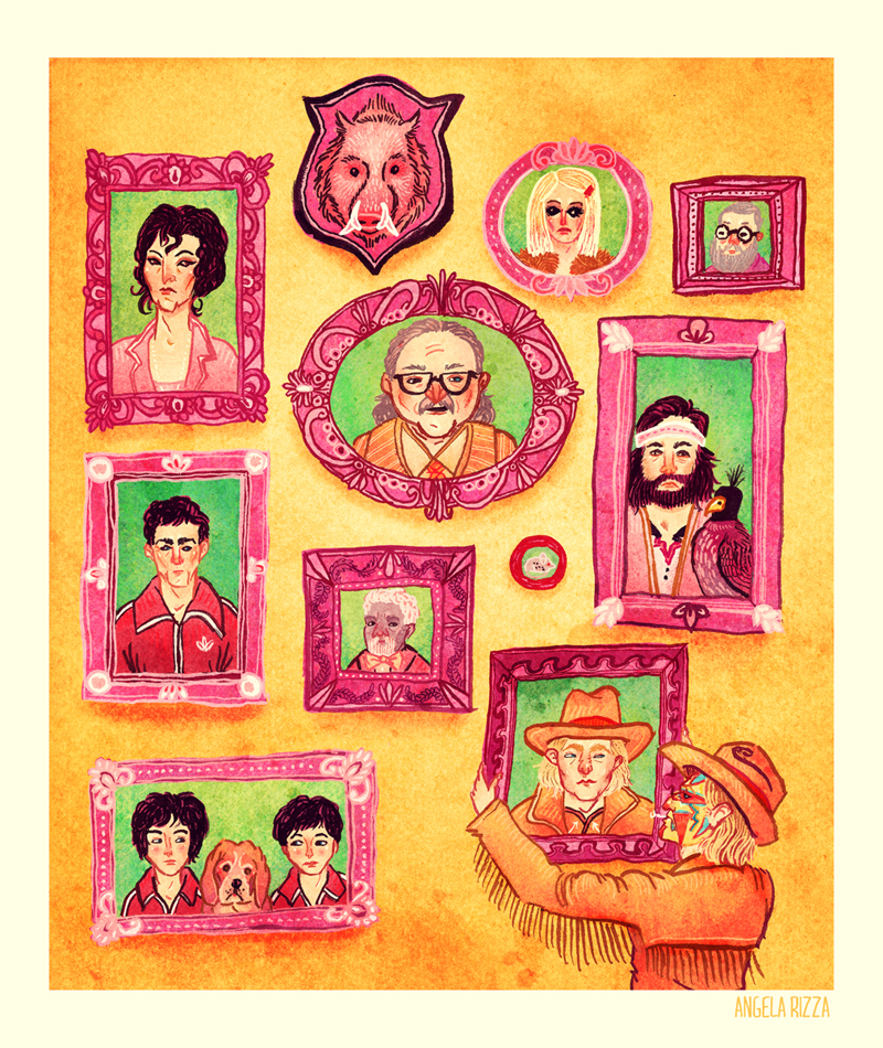 The Royal Tenenbaums by AngelaRizza