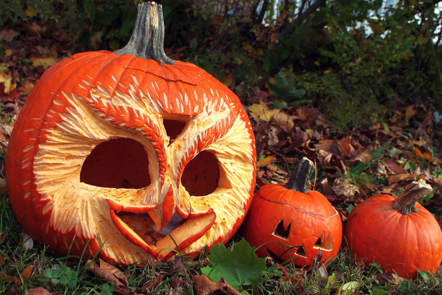 Pumpkins 2012 by AngelaRizza