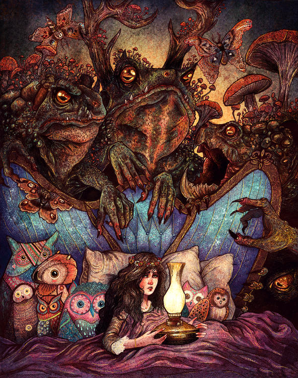 The Owl Princess And Her Night Terrors by AngelaRizza