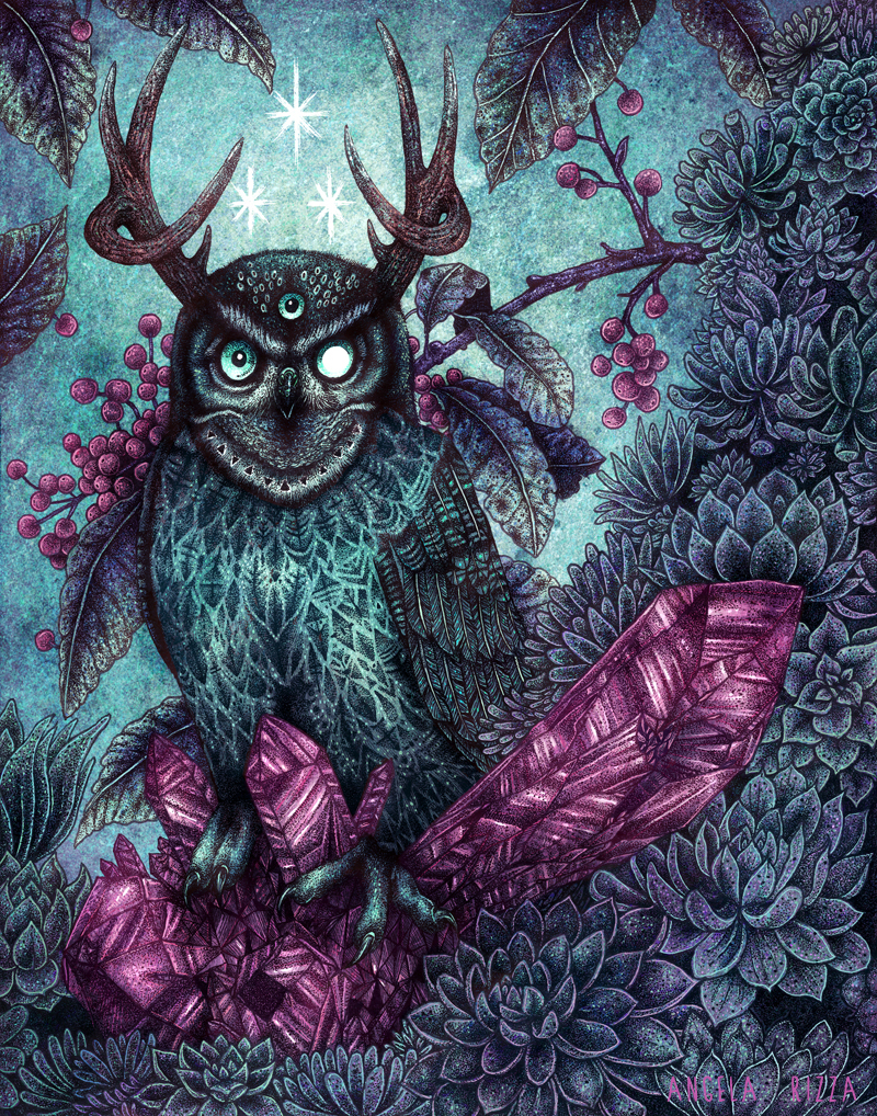 Night Owl by AngelaRizza