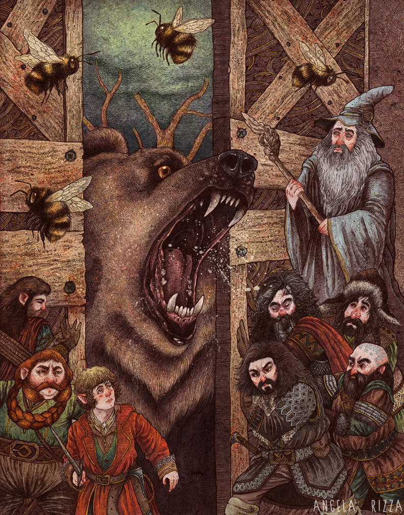 Beorn's Hall by AngelaRizza