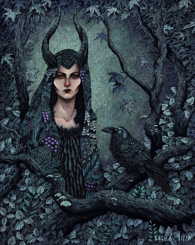 Maleficent by AngelaRizza