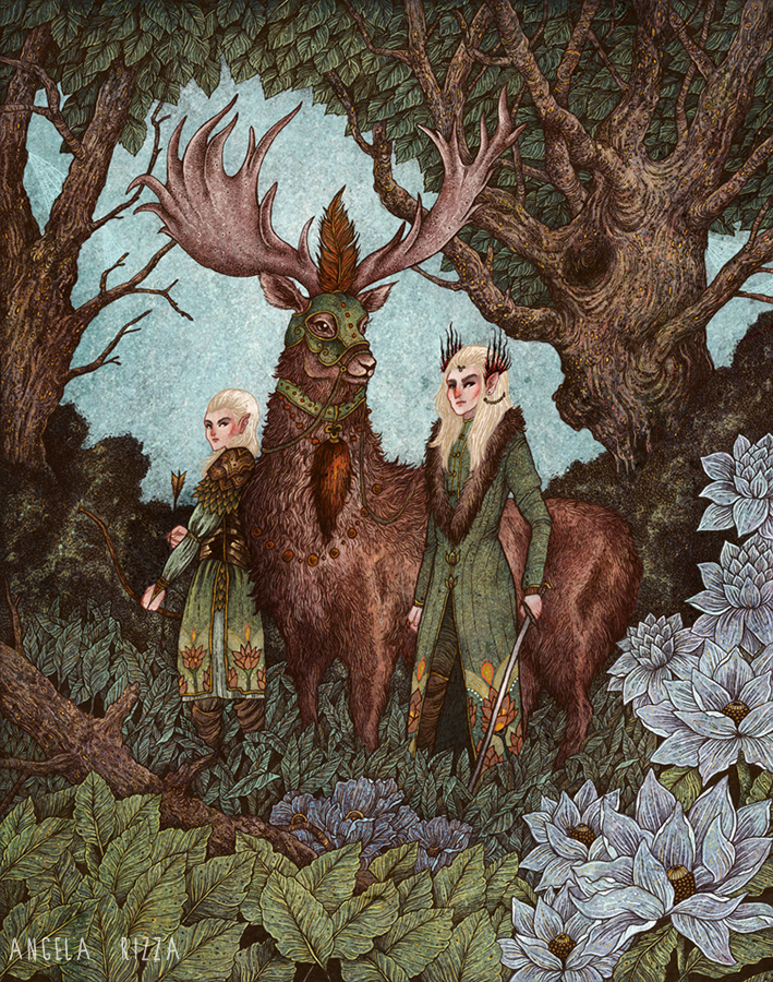 Mirkwood by AngelaRizza