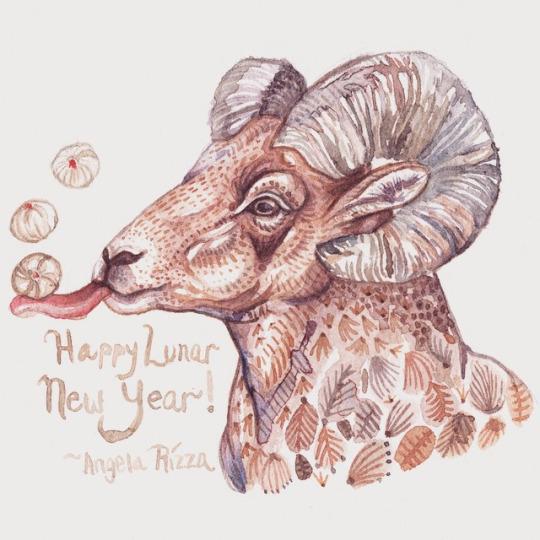 Lunar New Year 2015 by AngelaRizza