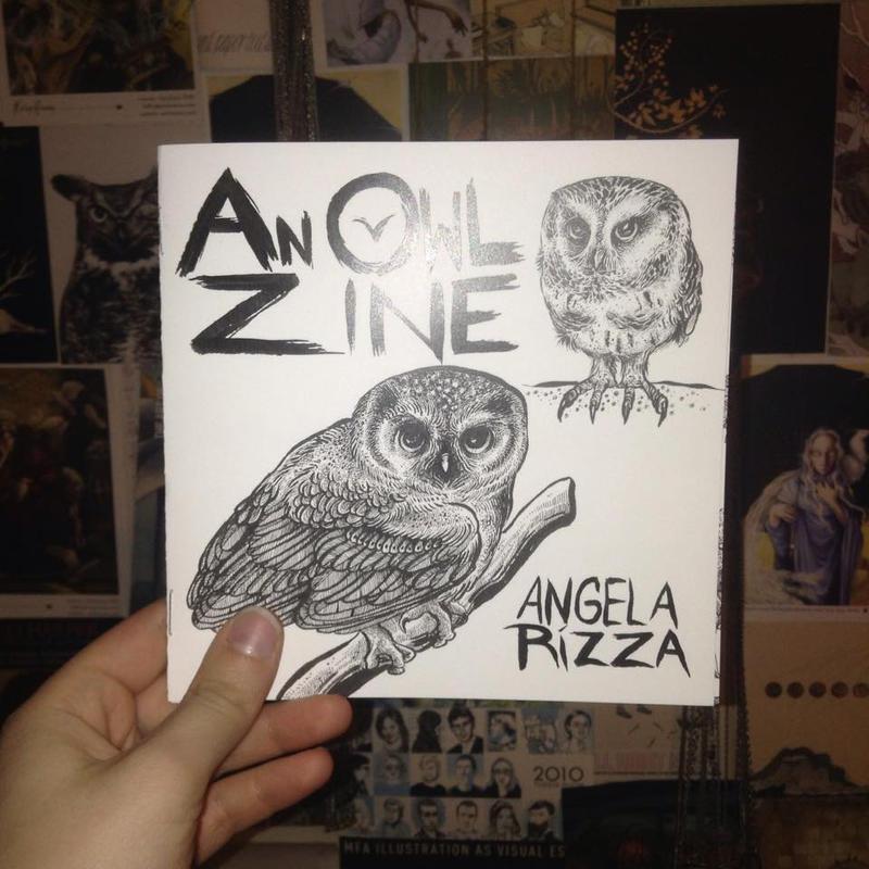 An Owl Zine by AngelaRizza