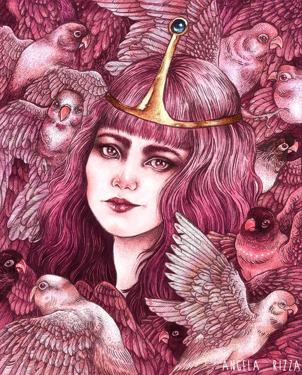 Princess Bubblegum by AngelaRizza