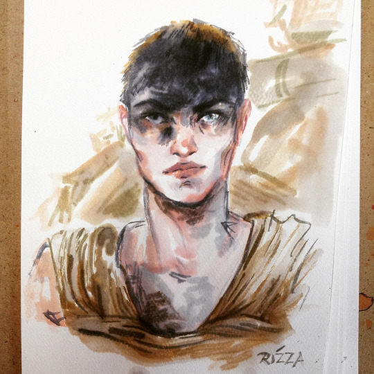 Furiosa Watercolor by AngelaRizza