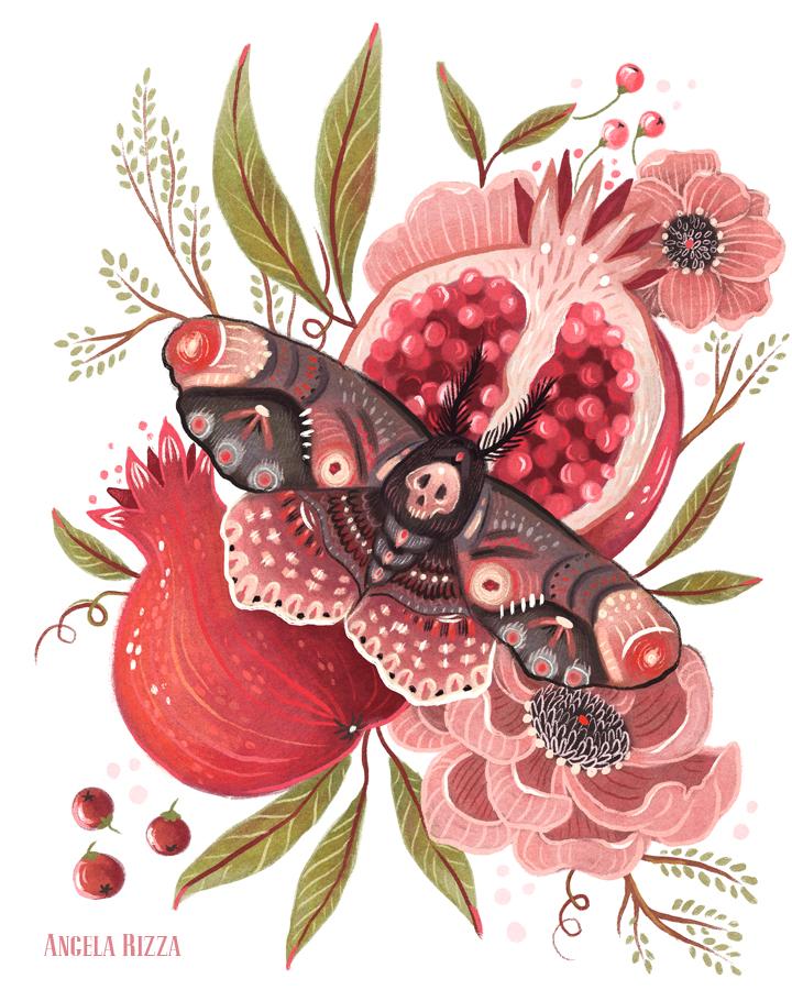 Moth Wings II by AngelaRizza