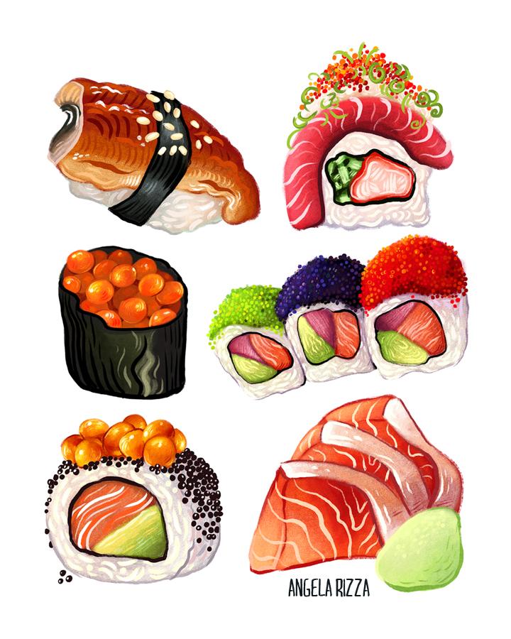 Sushi by AngelaRizza