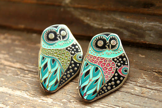 Mystic Owl Pins