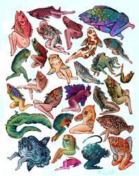Reverse Mermaids by AngelaRizza