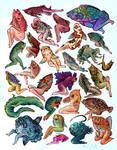Reverse Mermaids