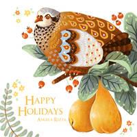 Happy Holidays 2017 by AngelaRizza