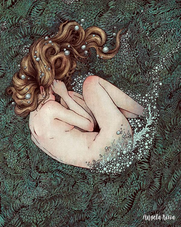The Birth of Venus by AngelaRizza