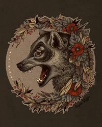 Little Wolf Tattoo Logo by AngelaRizza