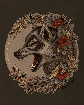 Little Wolf Tattoo Logo