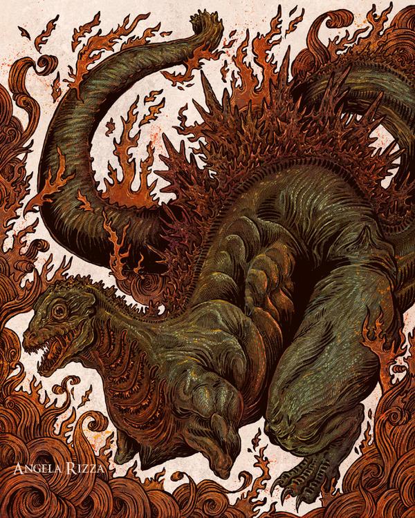 Kaiju in the Fire