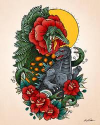 Biollante Tattoo