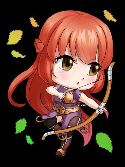 Ragnarok Archer Chibi! by kometashi