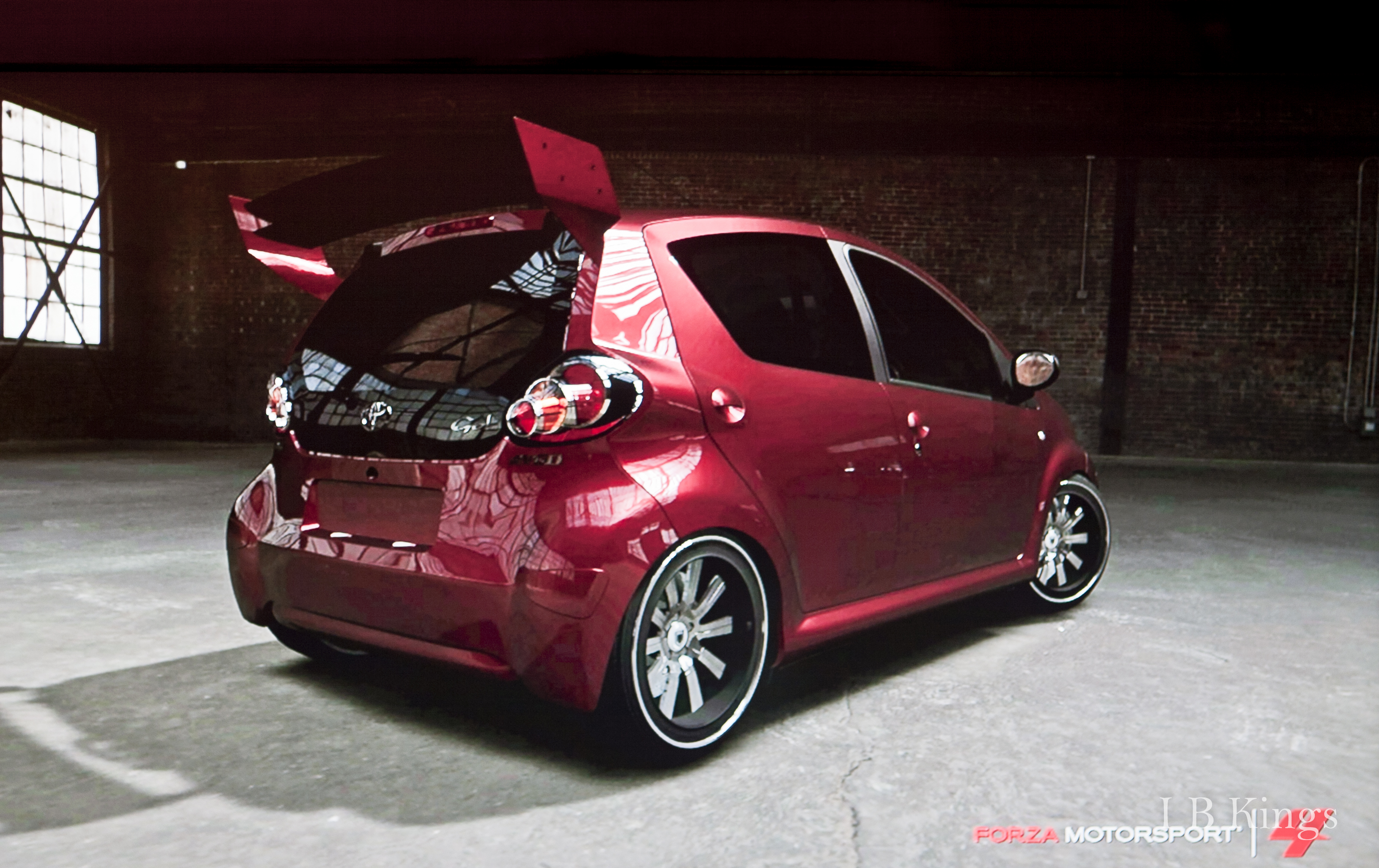 forza 4 toyota aygo tuned. Black Bedroom Furniture Sets. Home Design Ideas