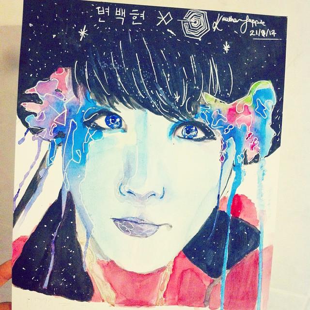 Baekhyun EXO by chimomo23