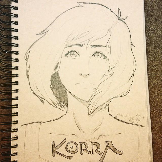 Korra by chimomo23