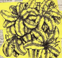 Post-it Lilies II