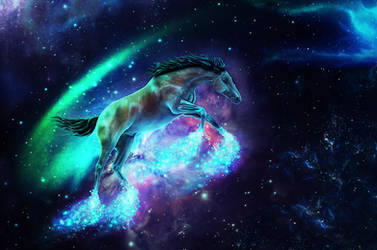 Among The Stars by gwentigreen