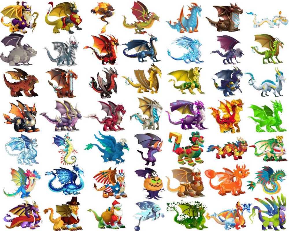 Dragon City Drachen