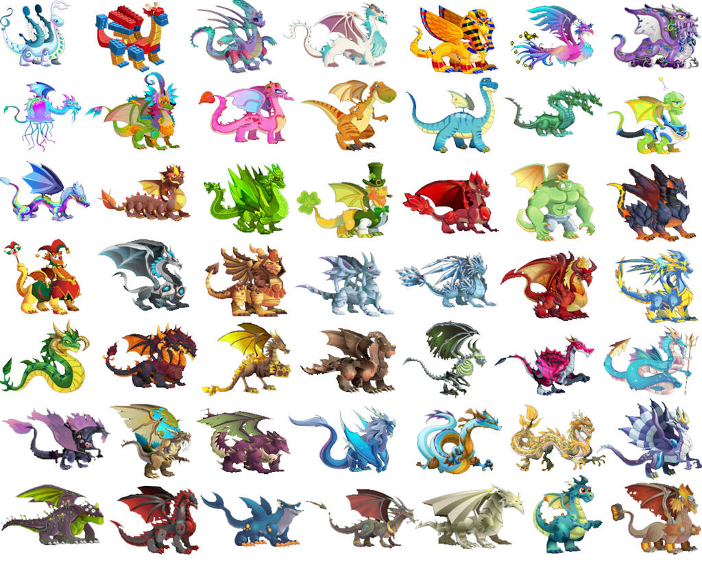 Dragon City Chart Part Collection 12 Wallpapers