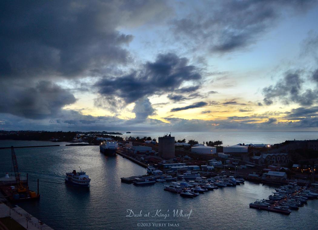 Dusk at King's Wharf by YuriyImas