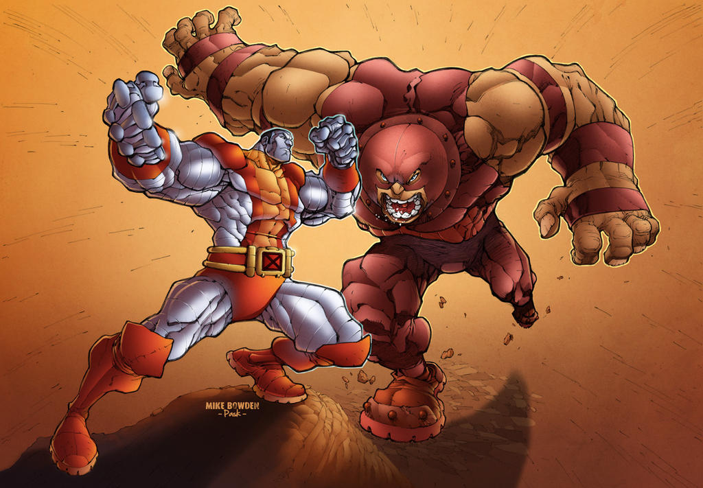 colossus vs juggernaut by pask on deviantart