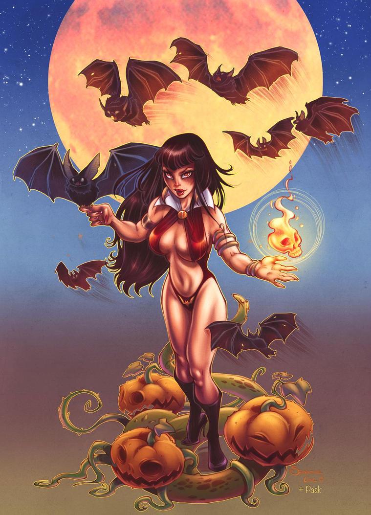 Vampirella by Pask