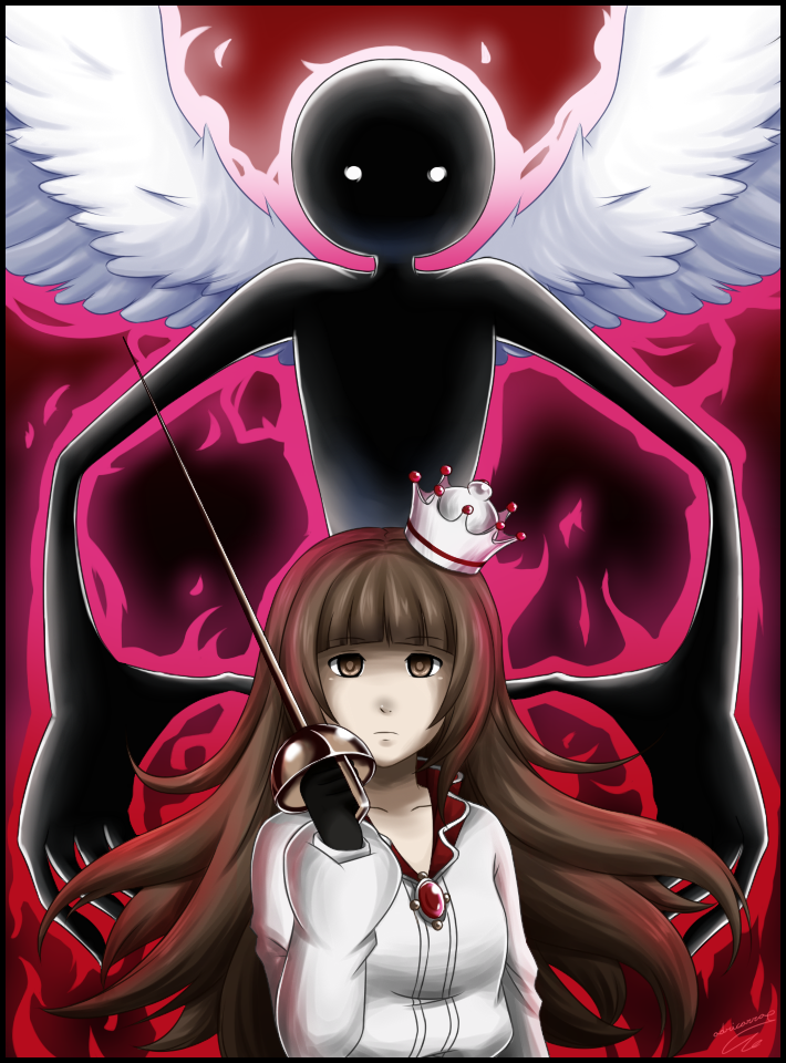 Deemo and the girl by adricarra