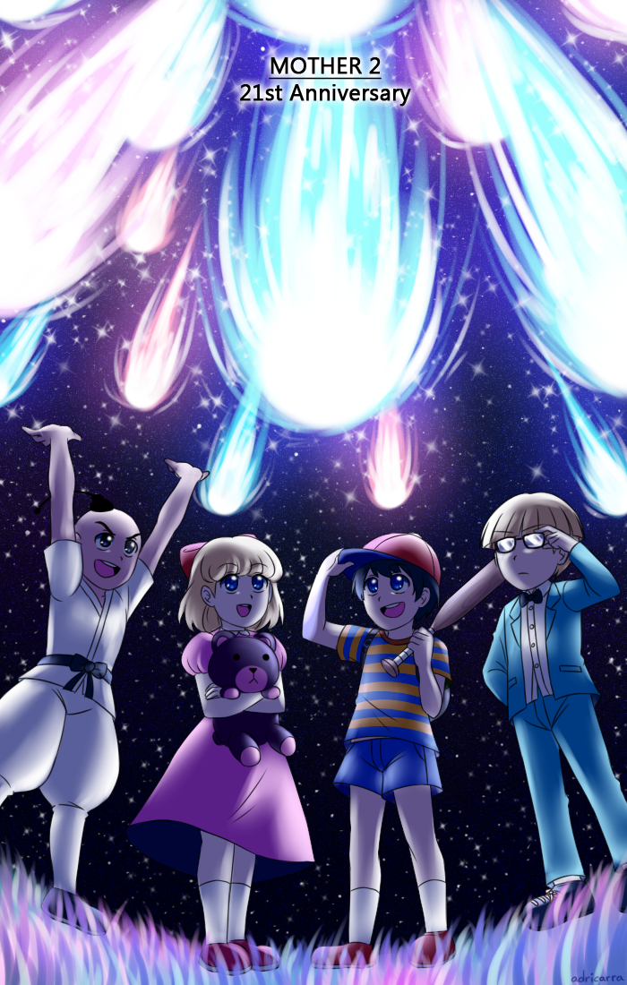 MOTHER 2 - 21st anniversary by adricarra