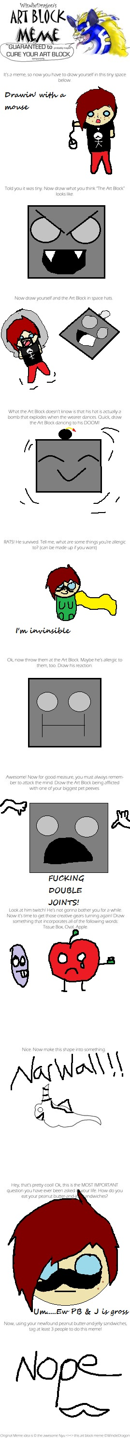 Art Block meme by BlahSoraBlah