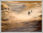 Evening Sunlite and Surf by MSlygh