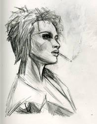marla singer by shortfury