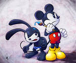 Epic Mickey: Mickey and Oswald