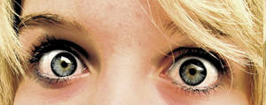 Its in her eyes