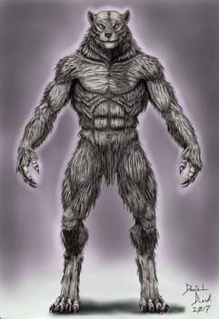 Werewolf turn around front, 2017