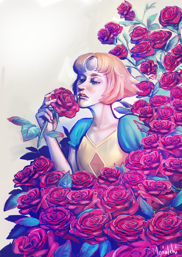 Finally my Pearl is finished <3 All those roses killed me. I can´t wait to see new episodes.