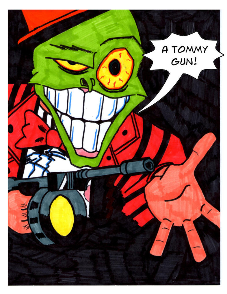 The Mask Tommy Gun by