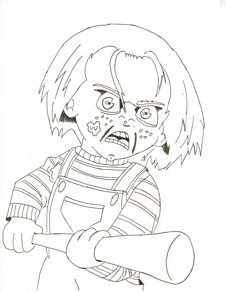 Clown Girl Coloring Page For Adults