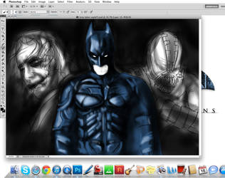 nolan trilogy progress by nickchetcuti-media
