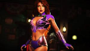 Jessica Alba as Starfire