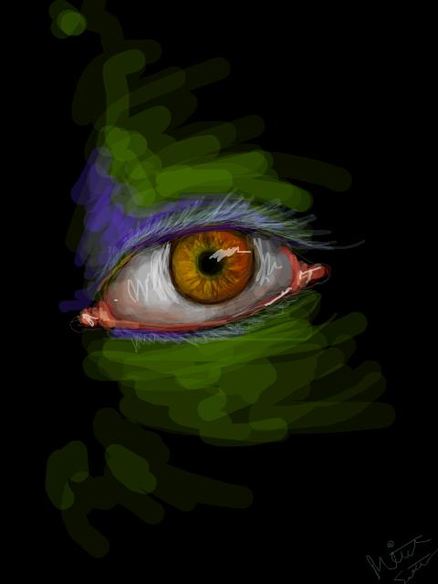 randomly drawing on TE II by BLACK-CROWN
