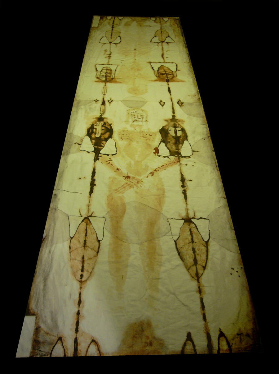 Shroud of Turin by Bela Manson