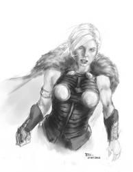 Valkyrie sketch