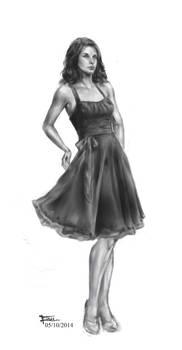 Pretty dress again